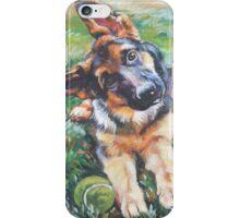 German Shepherd Fine Art Painting iPhone Case/Skin