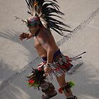 The Indian Dancer - Azteca bailando by PtoVallartaMex