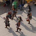 Group of Aztec Musicians and Dancers - Grupo de Musicos y Bailarines by PtoVallartaMex