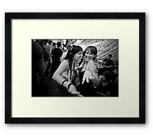 Xmas Party with Crystal & Sammii Framed Print