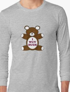 Supernatural 'I Wuv Hugs' Long Sleeve T-Shirt
