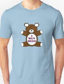 Supernatural 'I Wuv Hugs' Unisex T-Shirt