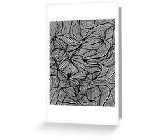 Swirly swirls - OneMandalaADay Greeting Card