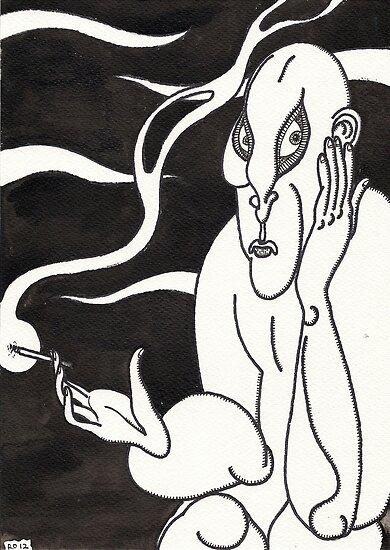 cigarette 2 by Ronan Crowley