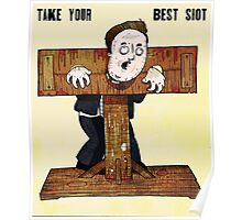Cameron In The Stocks Poster