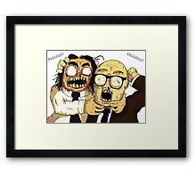 Richie And Eddie Framed Print