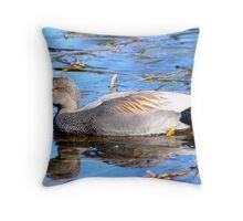 Just Another Beautiful Duck! Throw Pillow