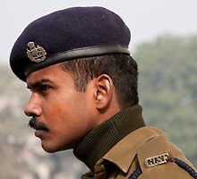 CISF On Guard by phil decocco