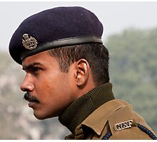CISF On Guard Photographic Print