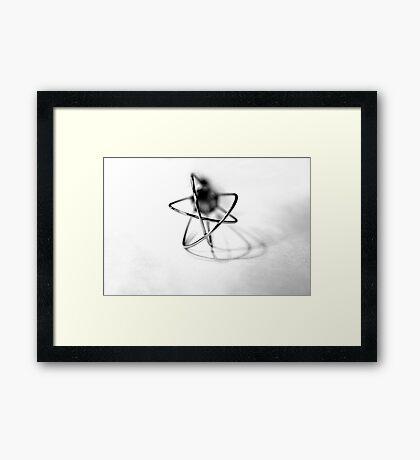 Atomium Framed Print