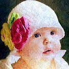 Baby Blue Eyes by Rick Wollschleger
