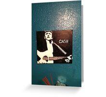 Jonny Cash Greeting Card