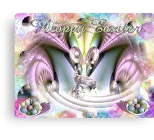 Hoppy Easter Canvas Print