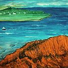 View across the Strait by George Hunter