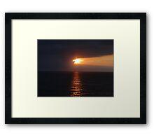 Springtide's Evening - Nochecita De La Primavera Framed Print