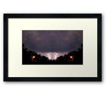 Lightning Art 17 Framed Print