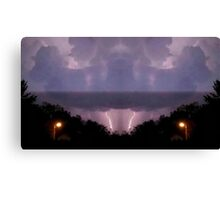 Lightning Art 16 Canvas Print