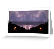 Lightning Art 16 Greeting Card