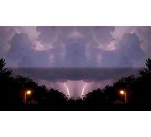 Lightning Art 16 Photographic Print