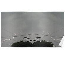 Lightning Art 001 Poster