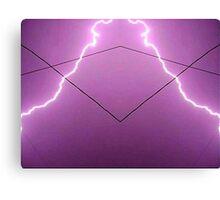 Lightning Art 002 Canvas Print