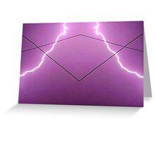 Lightning Art 002 Greeting Card