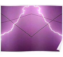 Lightning Art 002 Poster