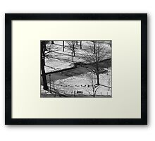 Occupy - Madison Capitol Building Framed Print
