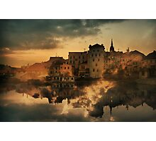Jindrichuv Hradec, South Bohemia Photographic Print