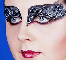 Black Swan Portrait by Peter Stone
