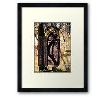 Hand on East Church Door Framed Print
