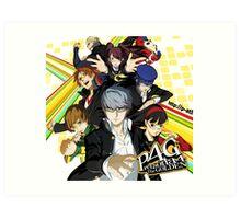 Persona 4 : The Golden Art Print