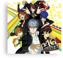 Persona 4 : The Golden Canvas Print