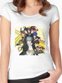 Persona 4 : The Golden Women's Fitted Scoop T-Shirt