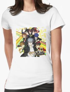 Persona 4 : The Golden Womens Fitted T-Shirt