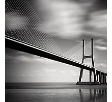 Vasco da Gama Bridge #02 Photographic Print