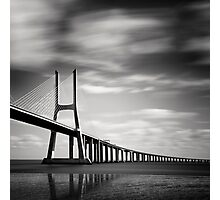 Vasco da Gama Bridge #03 Photographic Print