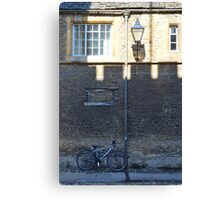 Merton Street, Oxford, UK Canvas Print