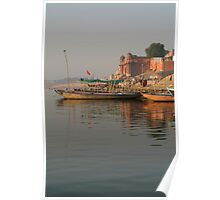 Reflections in the Ganges Poster