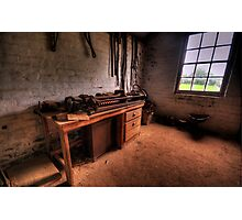 The Workshop  - Monte Christo Mansion, Junee NSW, The HDR Experience Photographic Print