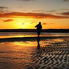 Photographer at Portobello Beach, Edinburgh by Shienna