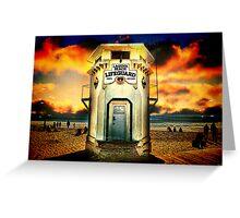 Laguna Beach Lifeguard HQ Greeting Card