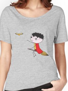 Harry Potter Quidditch Women's Relaxed Fit T-Shirt