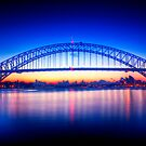 First Light-Sydney Harbour Bridge by Andrew  MCKENZIE