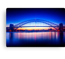 First Light-Sydney Harbour Bridge Canvas Print