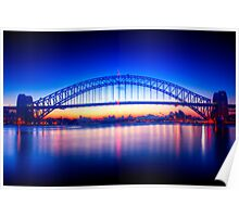 First Light-Sydney Harbour Bridge Poster