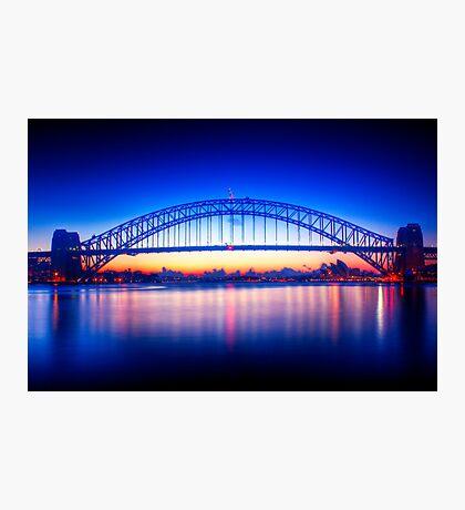 First Light-Sydney Harbour Bridge Photographic Print