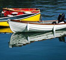 Row-boats ~ Lyme Regis by Susie Peek