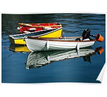 Row-boats ~ Lyme Regis Poster
