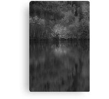 Loch Achilty - Silver Ghost Canvas Print
